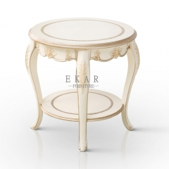 Home Use Marble or Wooden Corner End Tables