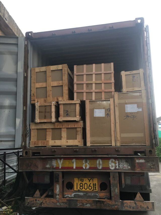 Loading Container To The UK