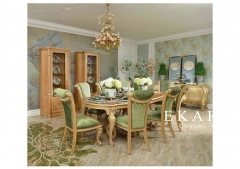 Exquisite and Nature Green House Dining Room Furniture Sets
