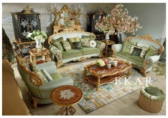 Turnkey Project Luxury European Design Living Room Sofa Sets